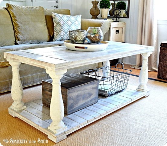 DIY Coffee Table Ideas Knock Off Decor