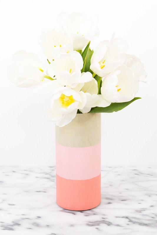 DIY Flower Vases Sarah Hearts