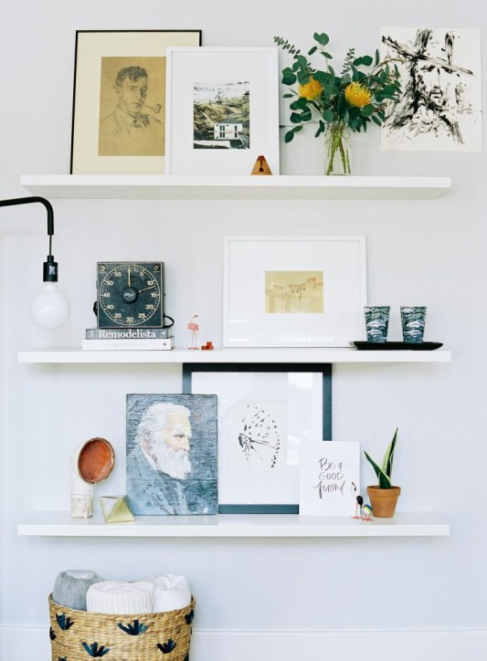 DIY Shelving Lauren Kelp