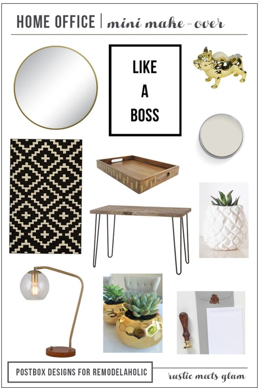 Postbox Designs Home Office Mood Board by Postbox Designs
