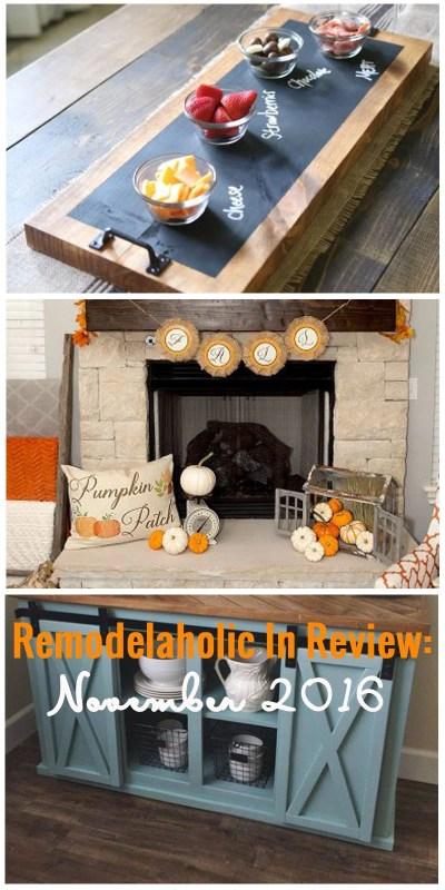 Remodelaholic November In Review 800x1600