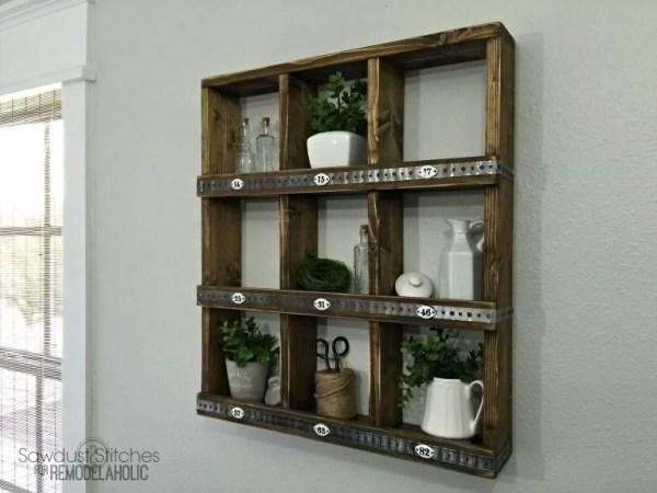 Rustic Cubby Wall Shelf 768x576