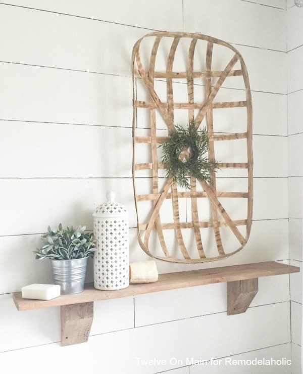 Rustic Farmhouse Shelves By Twelve On Main12