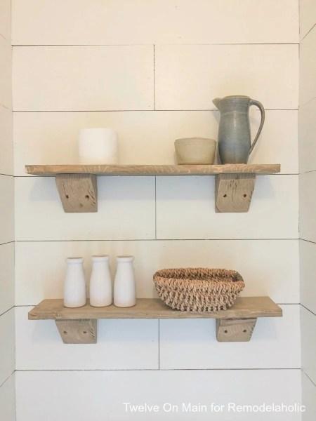 Rustic Farmhouse Shelves By Twelve On Main9