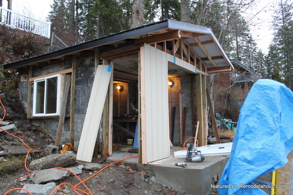 Boat House Renovation Before And After