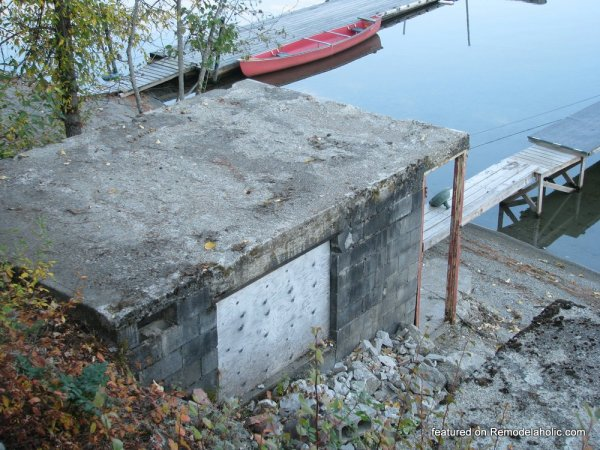 Boat House Renovation Before And After Featured On @Remodelaholic (8)