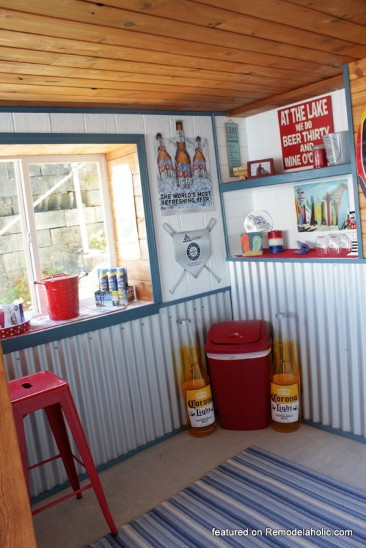 Boat Shed Renovation Before And After Featured On @Remodelaholic (5)
