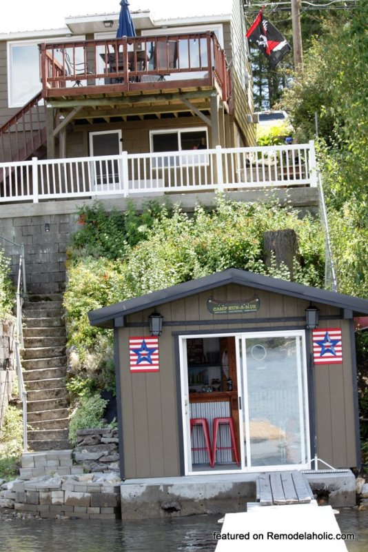 Boat Shed Renovation Before And After Featured On @Remodelaholic (9)