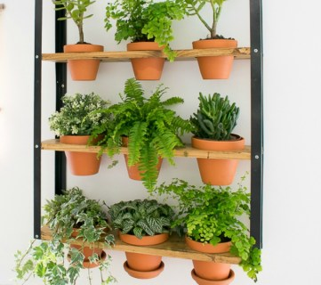 IKEA Hyllis Hack: Industrial Wall Planter