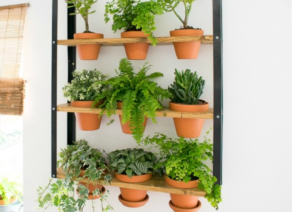 Feat Easy Diy Industrial Wall Planter