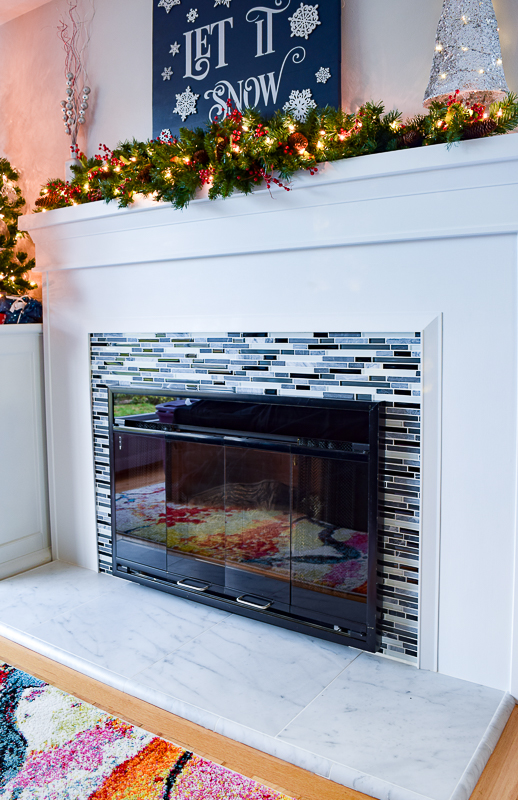 Fireplace Remodel Final Side View