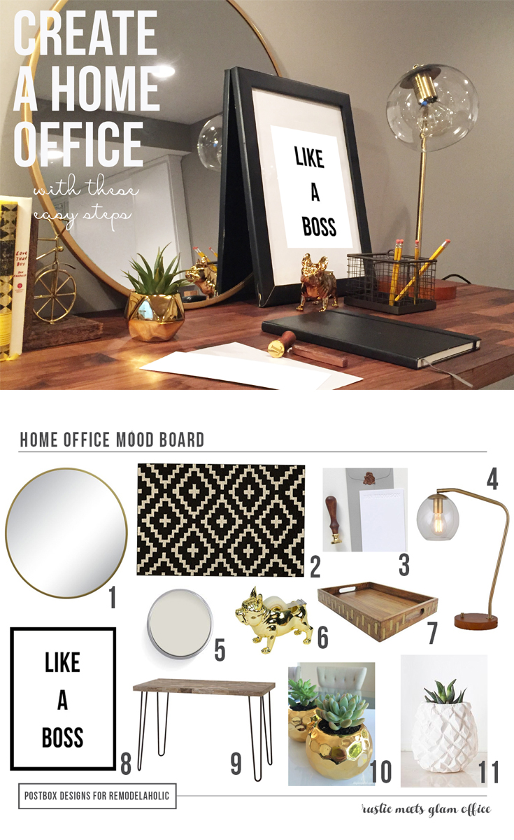 Home Office How To by Postbox Designs
