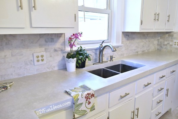 Remodelaholic 10 Inexpensive But Amazing Diy Countertop