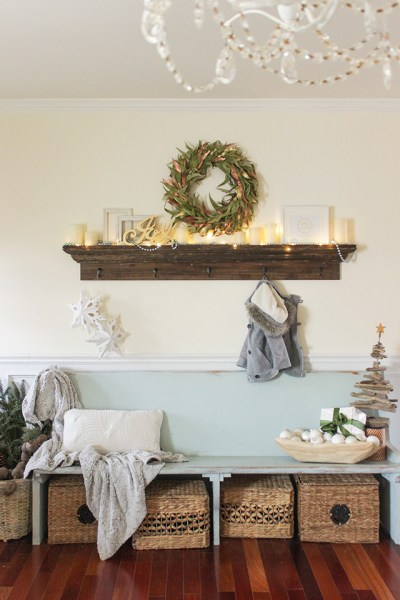 Christmas Coat Rack Shelf51
