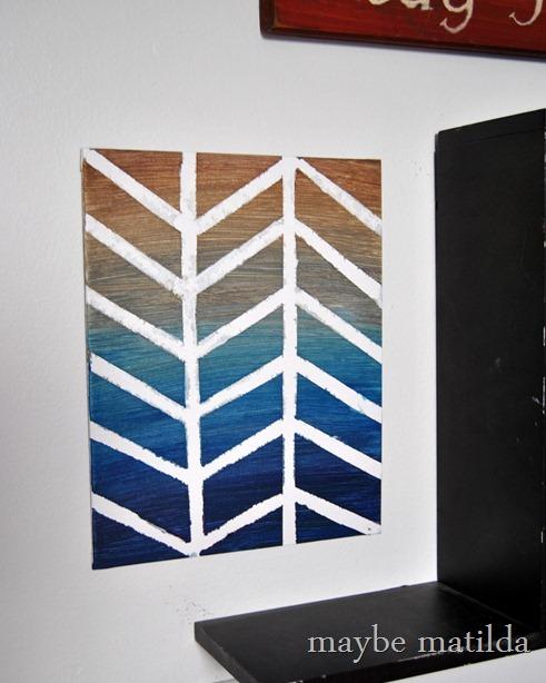 DIY Canvas Art Projects Maybe Matilda