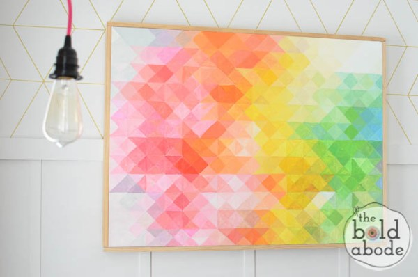 Remodelaholic | 25 DIY Canvas Art Projects for Teens
