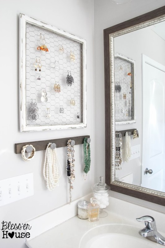 DIY Jewelry Organizer Ideas Bless'er House