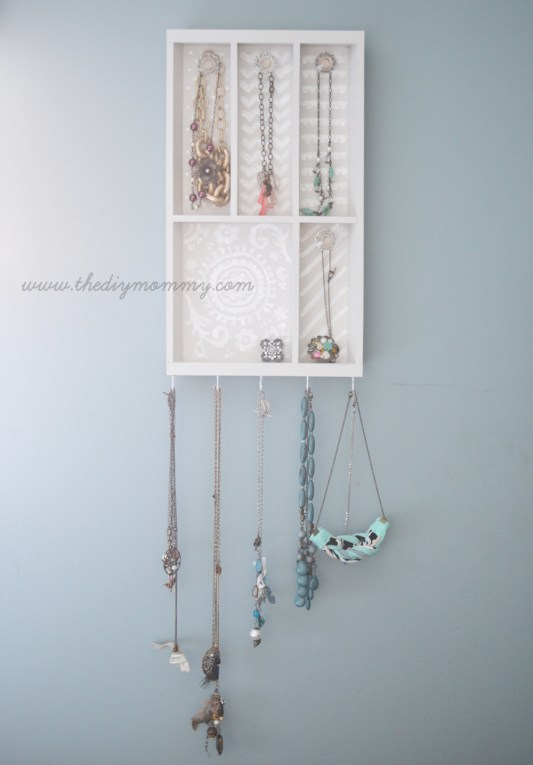 DIY Jewelry Organizer Ideas The DIY Mommy