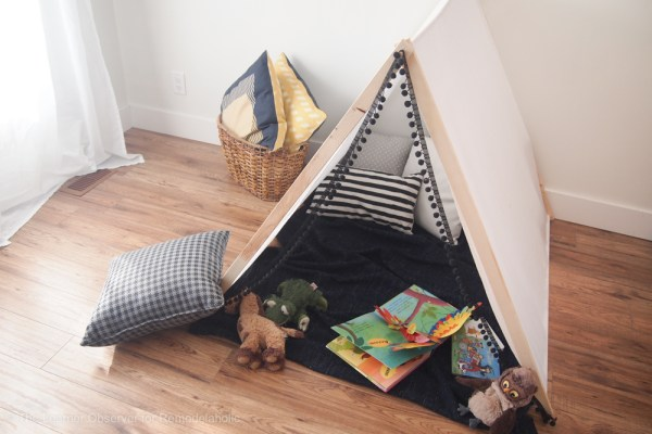 DIY Kids Tent The Learner Observer 1