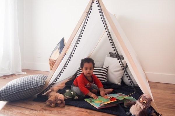 DIY Kids Tent The Learner Observer 6