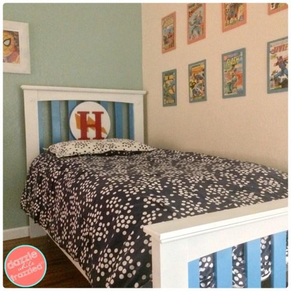 DIY Superhero Boys Bed Collage 11