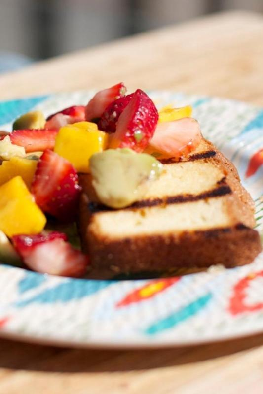 Summer Grilled Desserts Spaceships And Laser Beams