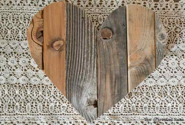 Diy Rustic Pallet Hearts Tutorial, The Created Home On @Remodelaholic (6)