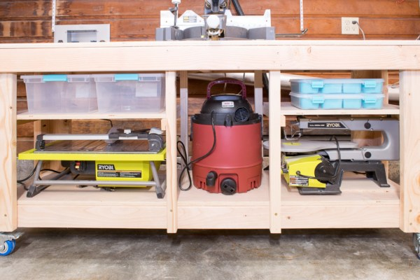 Miter Saw Stand Shelves 3