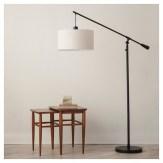 Neutral Living Room Pendant Floor Lamp