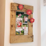 Scrap Project, Pallet Wood Memo Board