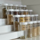 Scrap Project, Tiered Spice Rack