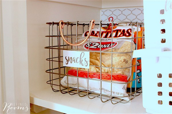 13 How To Organize And Beautify Your Pantry, By Refined Rooms Featured On @Remodelaholic