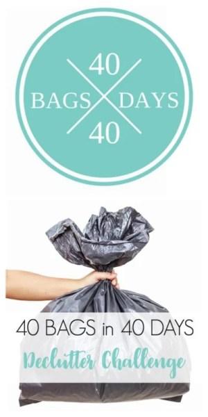 40 Bags In 40 Days Declutter Challenge 400x800