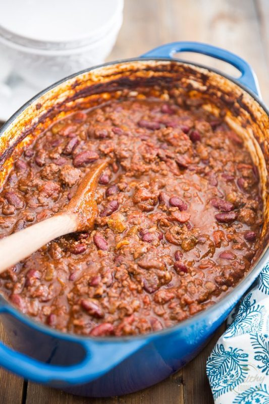 Dutch Oven Recipes The Healthy Foodie Chili