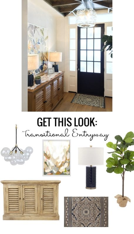 Get This Look Transitional Entryway
