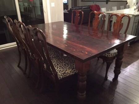 How to build a farmhouse table | construction2style