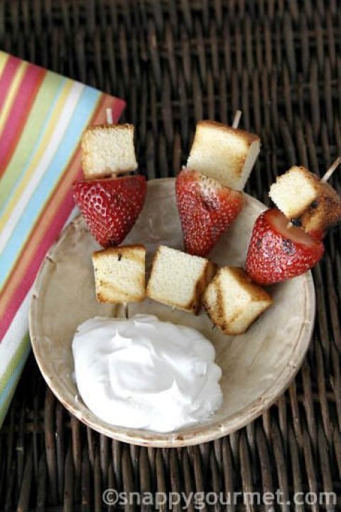 Summer Grilled Desserts Snappy Gourmet