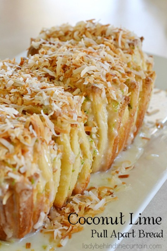 Coconut Lime Pull Apart Bread Lady Behind The Curtain 8