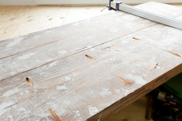 DIY Reclaimed Wood Coffee Table 10 This Mamas Dance