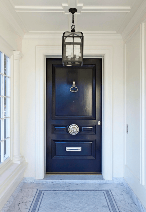 Door Color Is Benjamin Moore Black Beauty