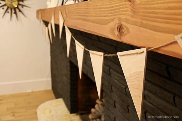 Easy Plywood Pennants By Remodelaholic 8
