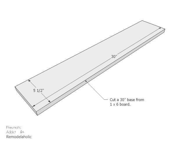 Long Wood Glass Centerpiece Bottom WM