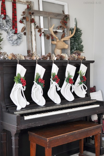 Stockings On Piano