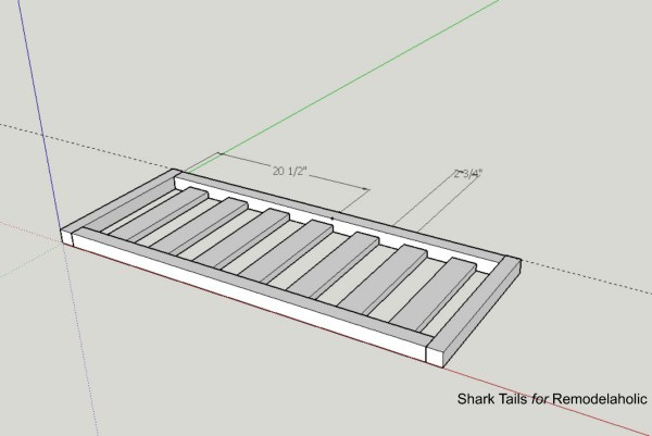 Triangle Bench.SharkTails.9
