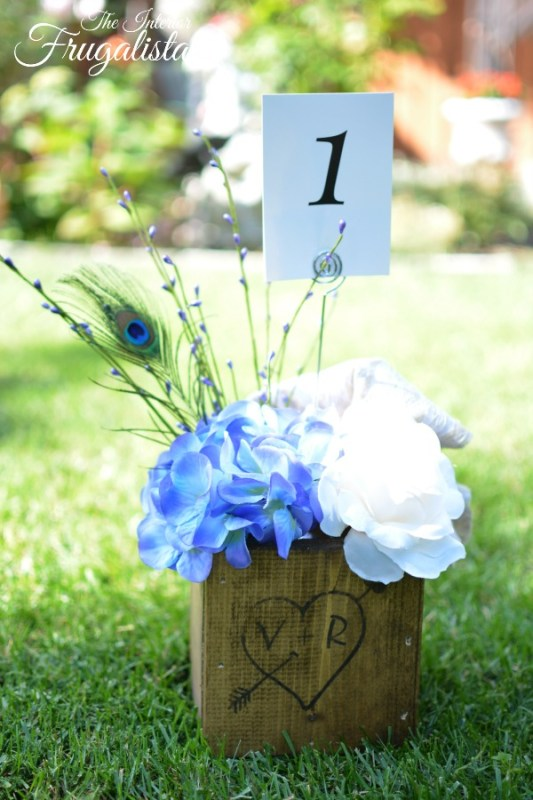 Wooden Centerpiece Boxes With Florals 600