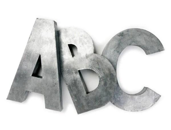 Diy Faux Zinc Letters Apieceofrainbow (17)
