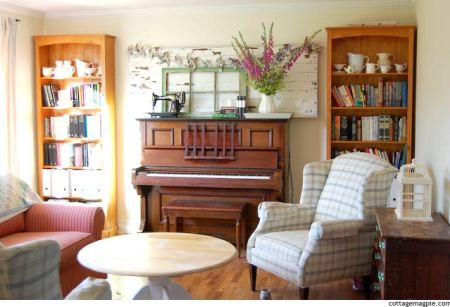 Early Summer Piano Mantel 3