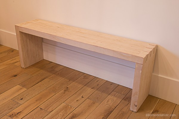 Plywood Bench By Remodelaholic 1 (5)