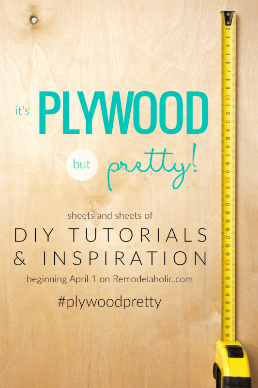 It's Plywood BUT Pretty! 12 New DIY Plywood Projects + Tutorials