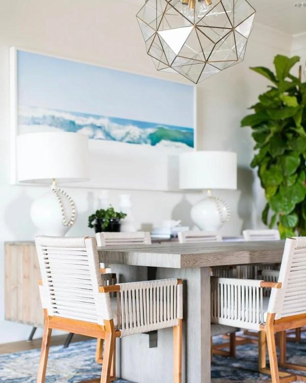 Design Ideas Tips Inspiration: Decorating A Coastal Dining Room